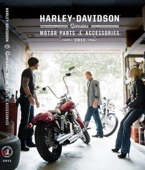 2013 Genuine Motor Parts and Accessories by Harley Davidson