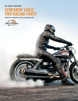 2014 Screamin Eagle® Pro Racing Parts