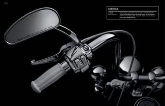 2014 Genuine Harley-Davidson Controls