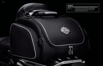 2015 Genuine H-D LUGGAGE