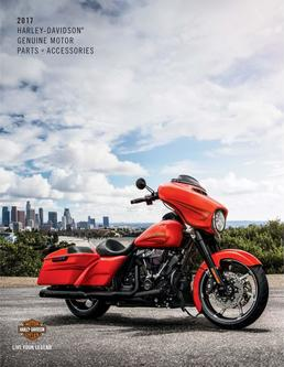 2017 Harley-Davidson® Genuine Motor Parts + Accessories