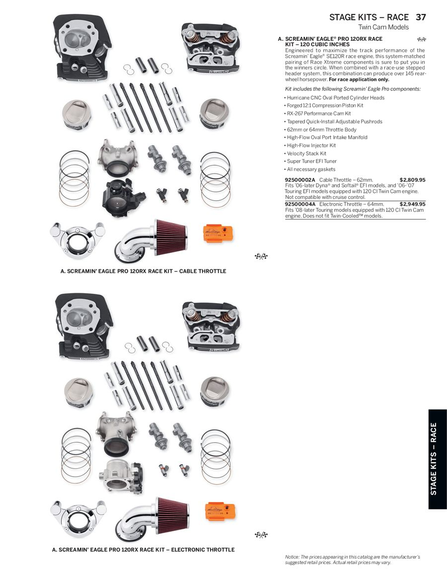 Page 36 of 2014 Screamin Eagle® Pro Racing Parts