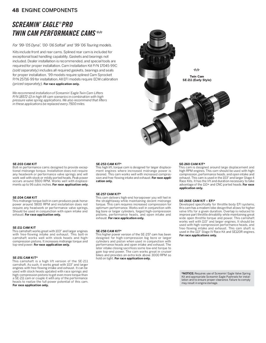 Page 47 of 2014 Screamin Eagle® Pro Racing Parts
