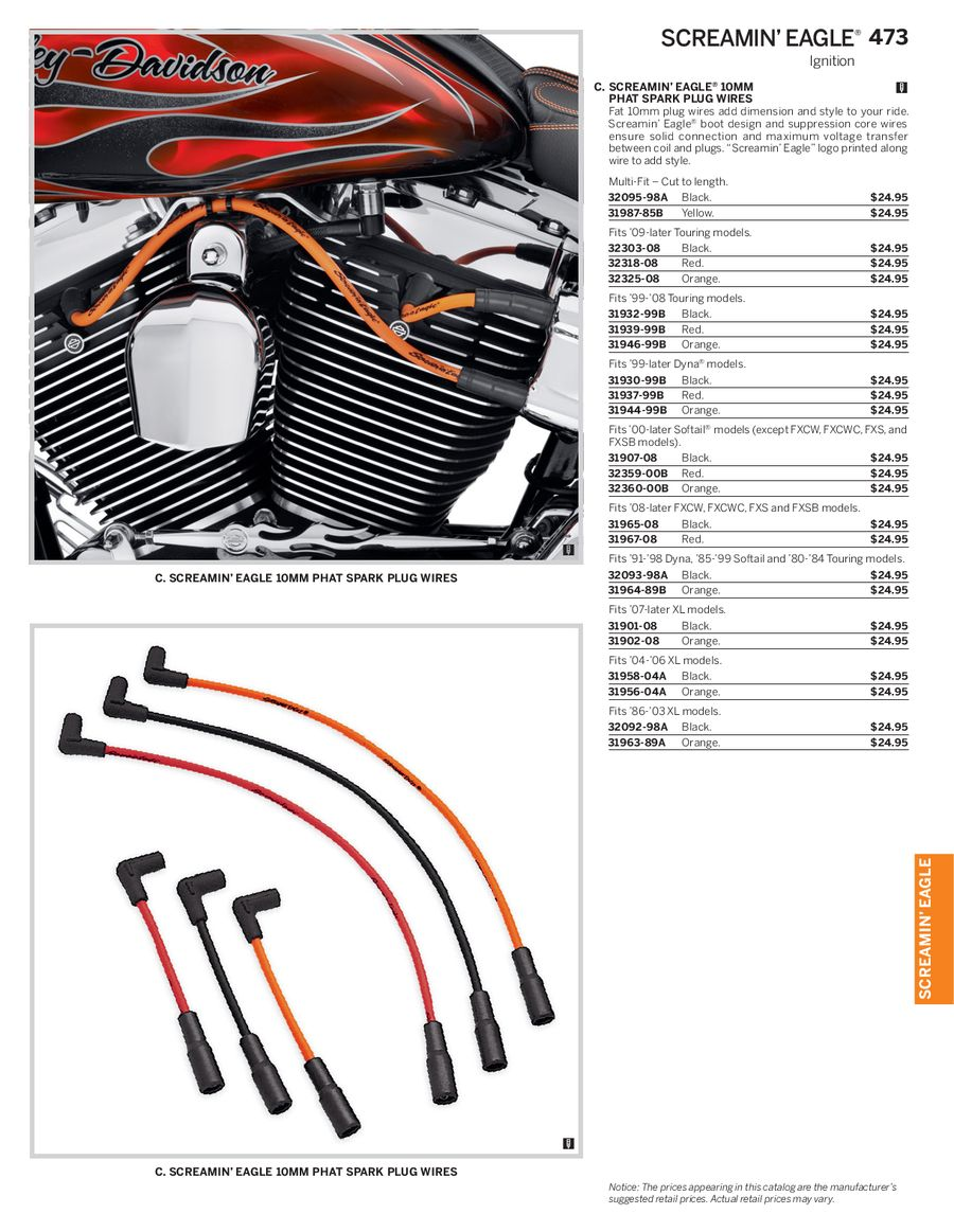Page 48 of 2014 Genuine H-D Screamin Eagle Parts