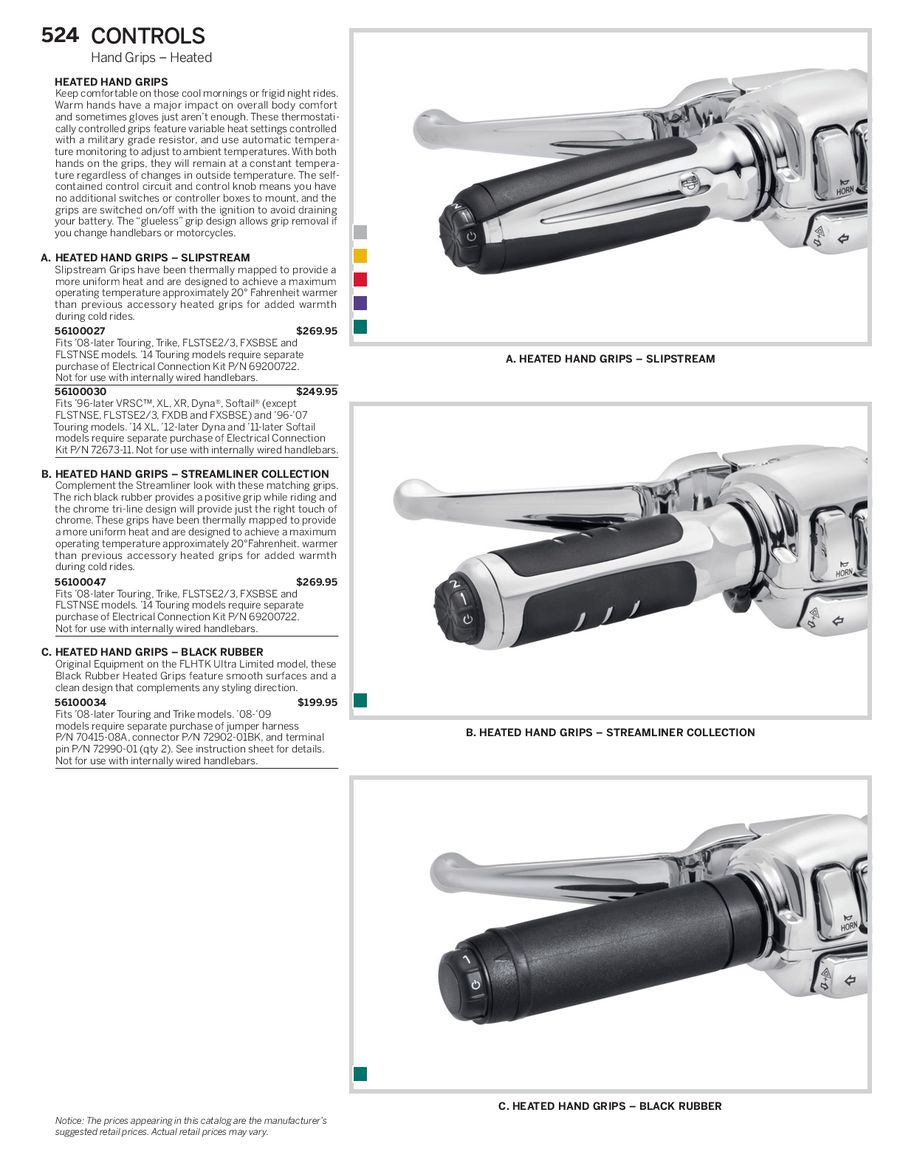 Page 64 Of 2014 Genuine Harley Davidson Controls Heated Grips Wiring Diagram By