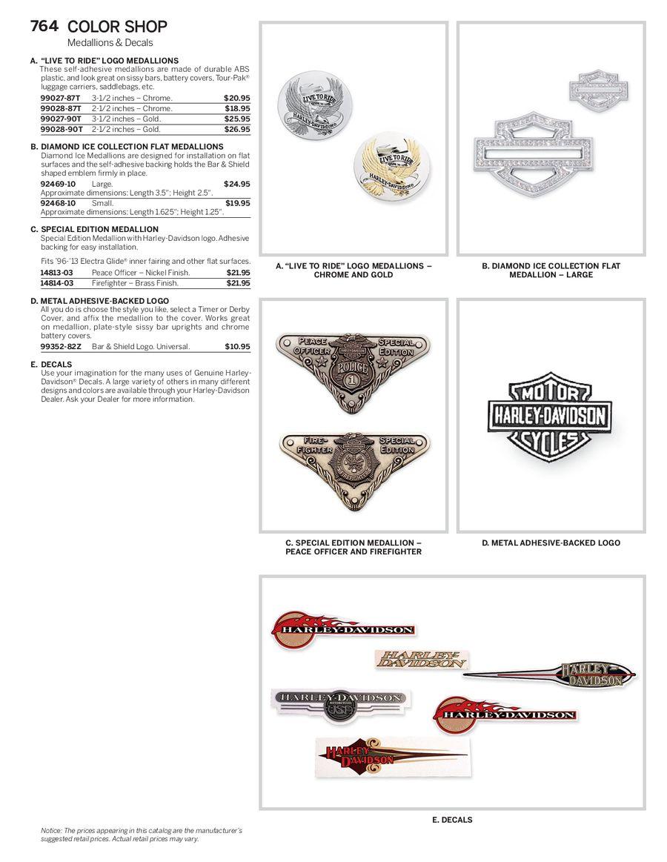 Page 30 Of 2014 Genuine Harley Davidson Color Shop Saddlebag Speaker Wiring Diagram P