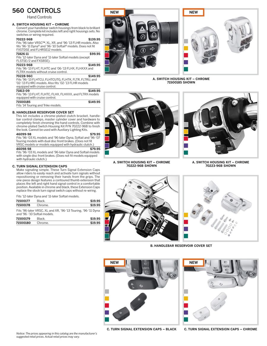Page 39 Of 2015 Genuine H D Controls Replacing And Repositioning Light Switches P 71