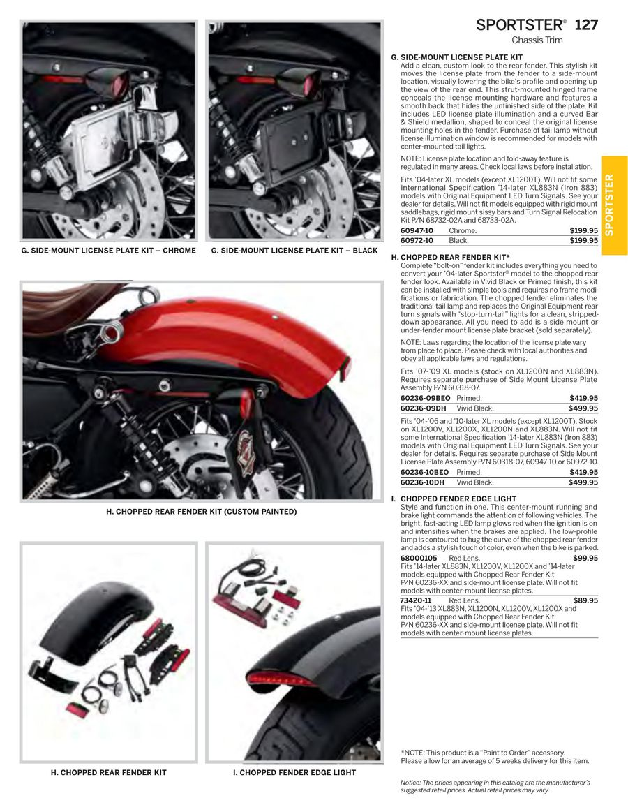 Page 108 of 2015 Genuine H-D Motor Parts & Accessories