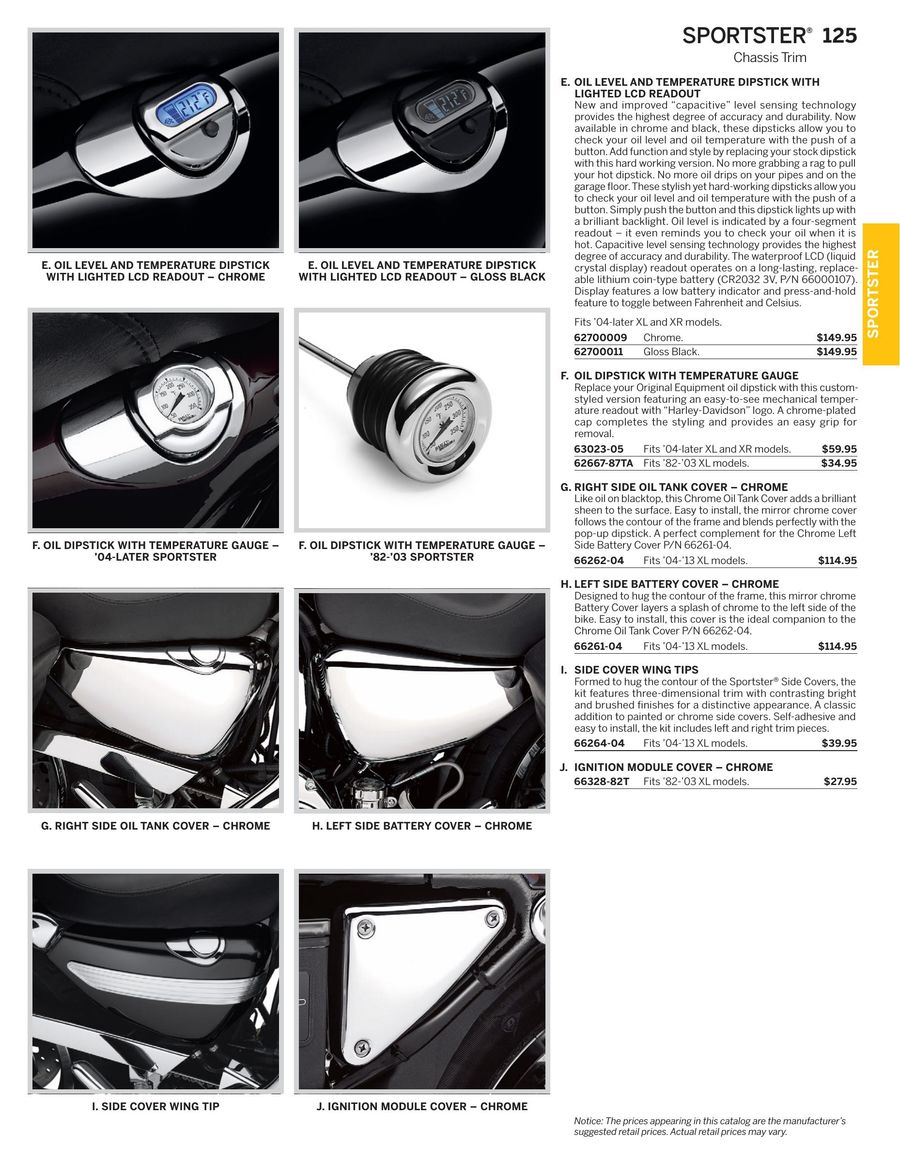 Page 70 of 2016 Sportster Parts & Accessories
