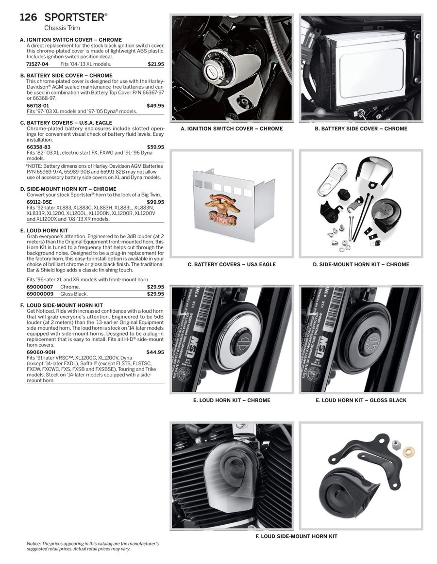 Page 66 of 2016 Sportster Parts & Accessories