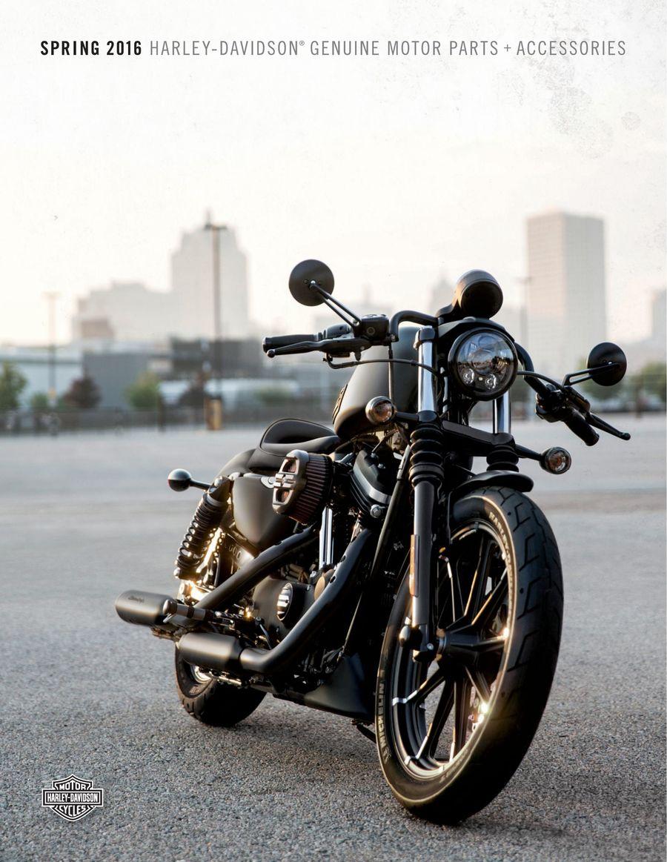 25b7ab29b5 Spring 2016 Harley-Davidson® Genuine Motor Parts + Accessories by Harley  Davidson