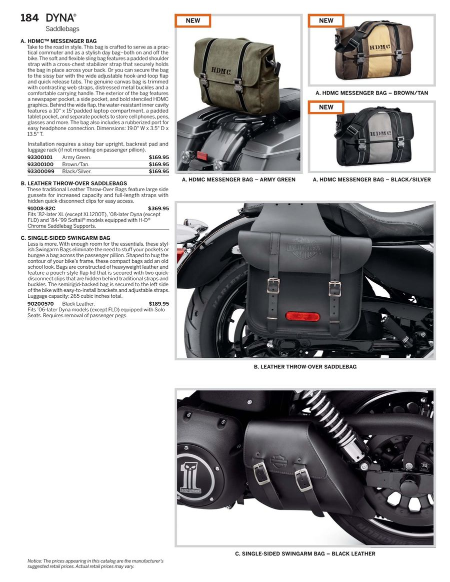 Page 185 Of 2017 Harley Davidson Genuine Motor Parts Accessories Leather Protectant P 964