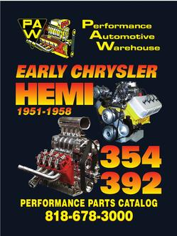 Early Chrysler HEMI Performance Parts