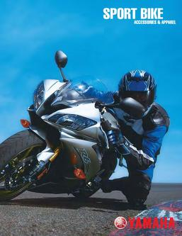 Catalogue: Yamaha Motor Canada Sport Bike Accessories & Apparel 2008