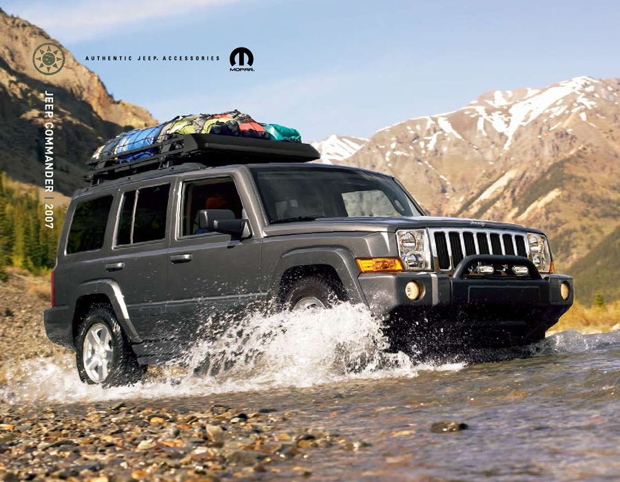 & 2007 Jeep Commander Accessories by JParts