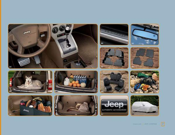 page 7 of 2008 jeep compass accessories. Cars Review. Best American Auto & Cars Review