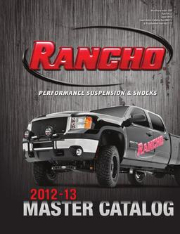 2012 - 2013 Performance Suspension & Shocks