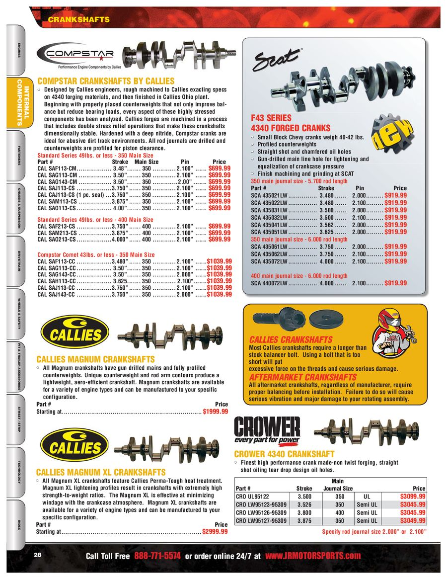 Page 33 of Racing Parts 2010