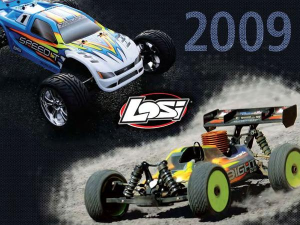 Catalogue: Losi Ready-to-Run Vehicles, Xcelorin Brushless Systems & Batteries