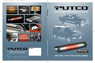 Catalogue: Putco 2008 Auto - Truck - SUV Accessory