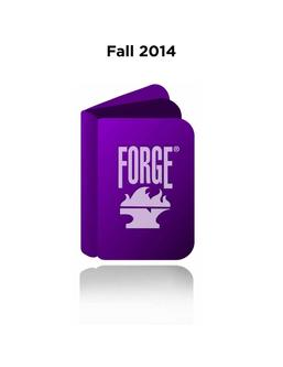 Forge Fall 2014