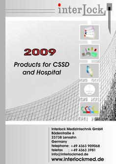 Products for CSSD and Hospital 2009