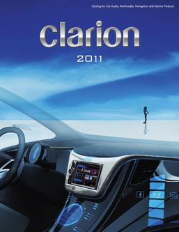 Car Audio, Multimedia, Navigation and Marine Products 2011