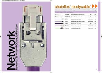 chainflex® Network Cables 2014
