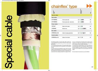 chainflex® Special Cables 2014