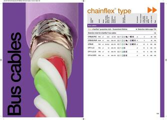 chainflex® Bus Cables 2014