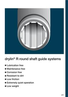 drylin® R - Linear Plain Bearings 2015