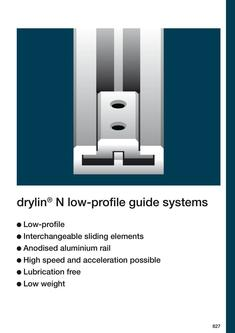drylin® N - Low-Profile Linear Guide System 2015