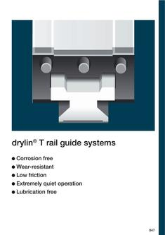 drylin® T - Linear Guide System 2015