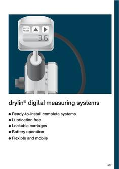 drylin® measuring systems 2015