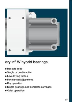drylin® Hybrid bearings
