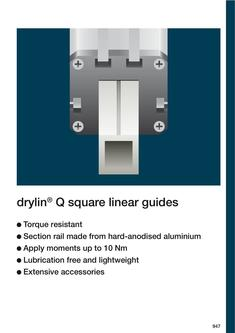 drylin® Q - Square linear guides 2015