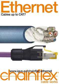 chainflex® Ethernet cables 2015