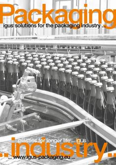 Packaging igus® solutions for packaging industry 10/2016