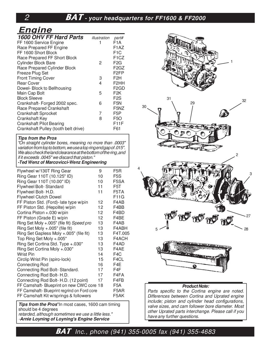formula ford parts by bat inc rh who sells it com ford kent engine manual pdf ford kent engine workshop manual