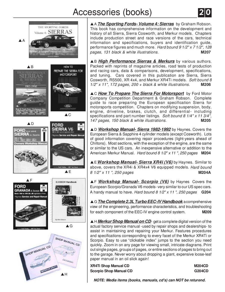 Page 23 Of Merkur Xr4 Scorpio Parts 1985 Wiring Harness P 45