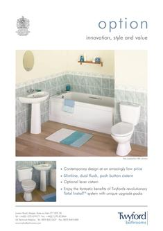 Twyford REFRESH Bathroom Suite - Showers and Bathrooms, Grohe