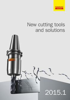 New cutting tools and solutions 15.1