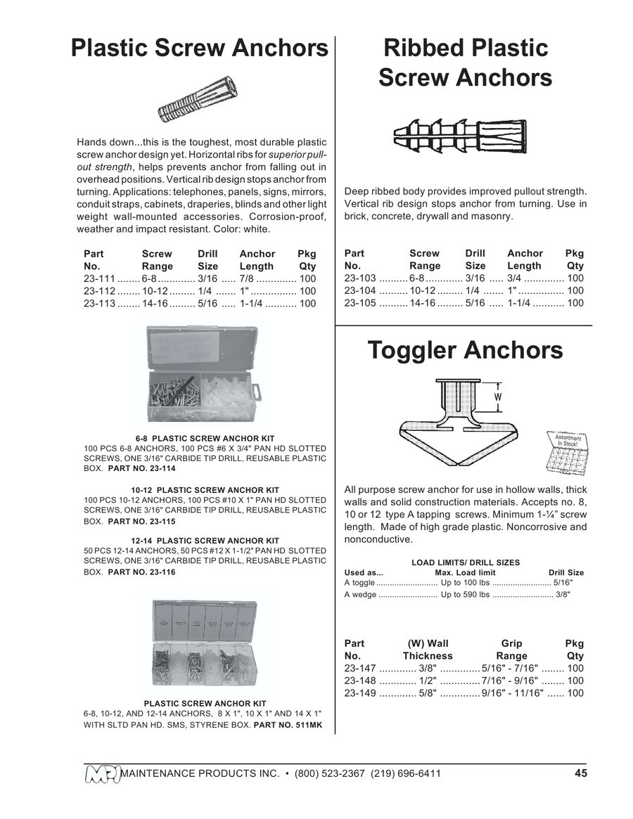 Page 44 of Fasteners and Industrial Supplies