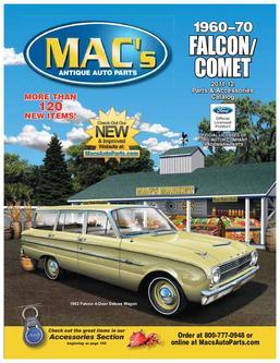 1960-70 Falcon Comet 2011 - 2012 Parts & Accessories by MACs Antique