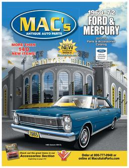 1960-72 Ford & Mercury 2011 - 2012 Parts & Accessories