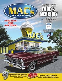 1960-72 Ford & Mercury 2012 - 2013 Parts & Accessories