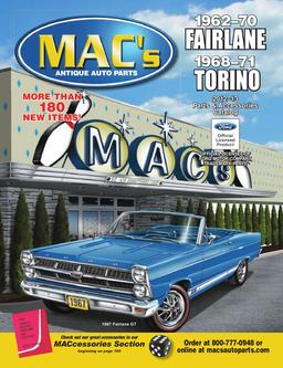 1962–71 Fairlane Torino 2012–2013 Parts & Accessories