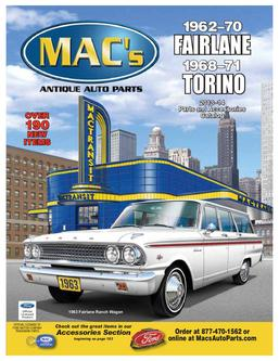 1962–71 Fairlane Torino 2013–2014 Parts & Accessories
