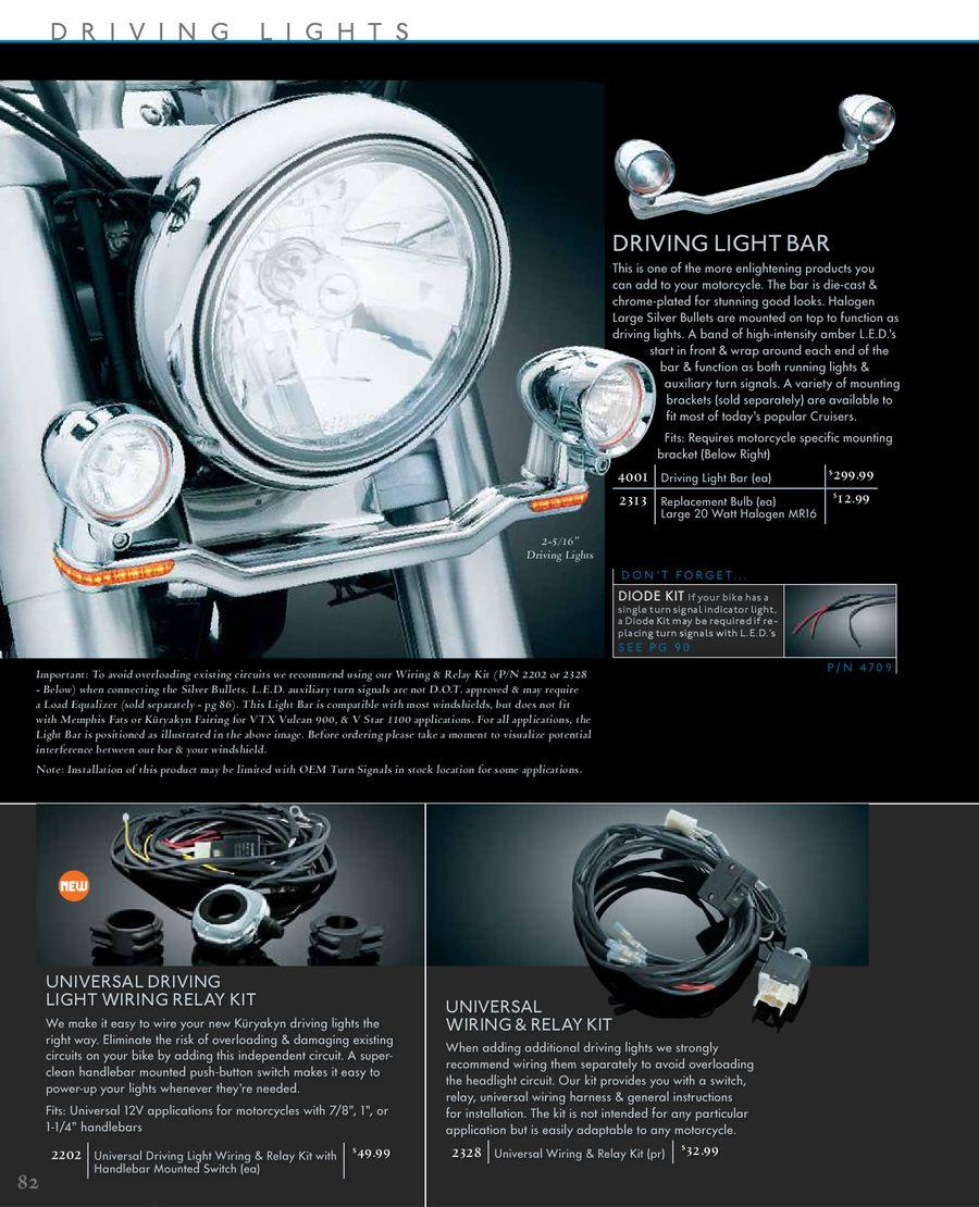 Lighting Metric 2011 By Kryakyn Usa Vtx 1300 Wiring Diagram Turn Signal