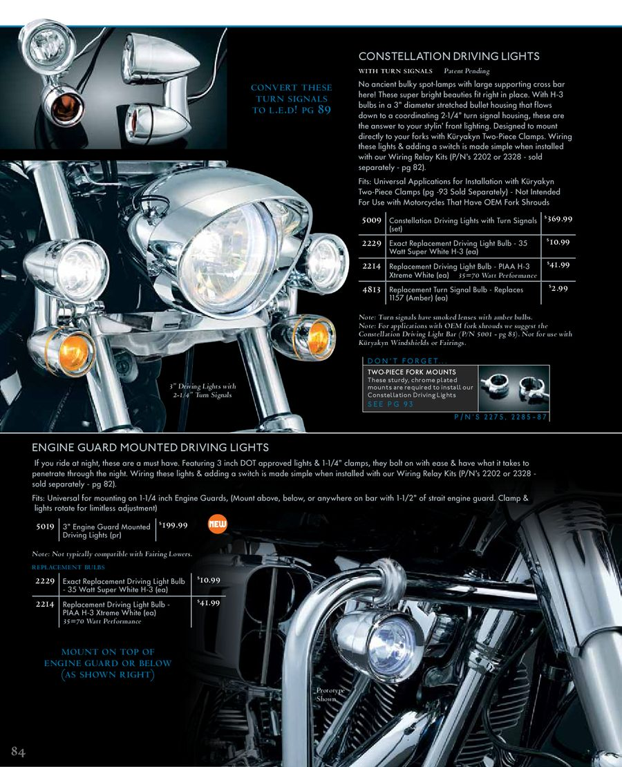 Lighting Metric 2011 By Kryakyn Usa Piaa Motorcycle Lights Wiring Diagram P 1 18